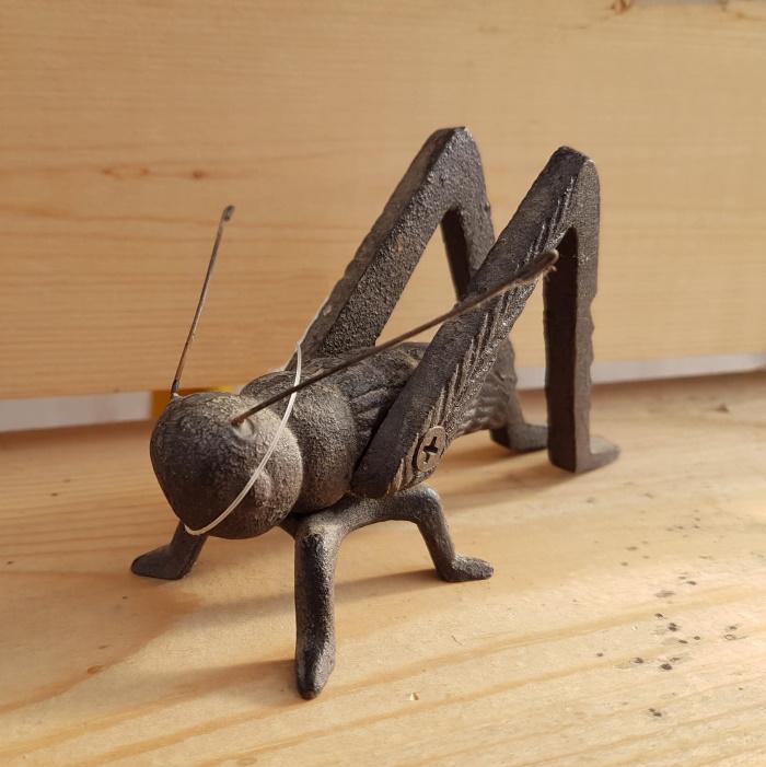 Cast Iron Grasshopper - 4
