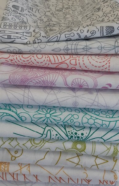 Alison Glass Sun Print Light Fat Quarter Bundle - 11 skus