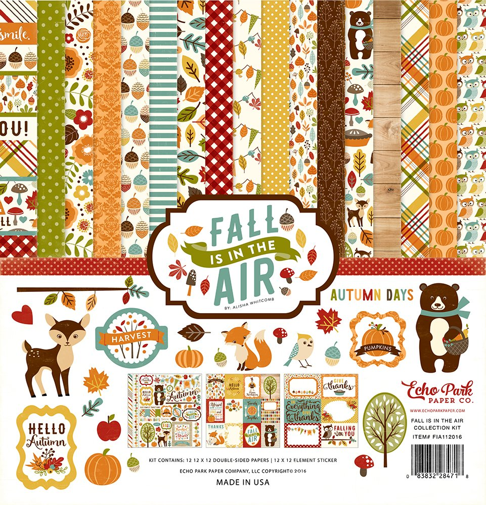 Fall is in the Air Echo Park 12x12 Collection Kit