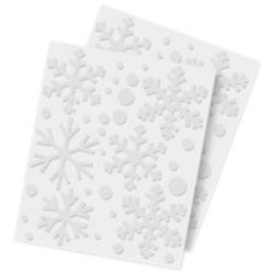 3D Foam Snowflakes - Scrapbook Adhesives v2