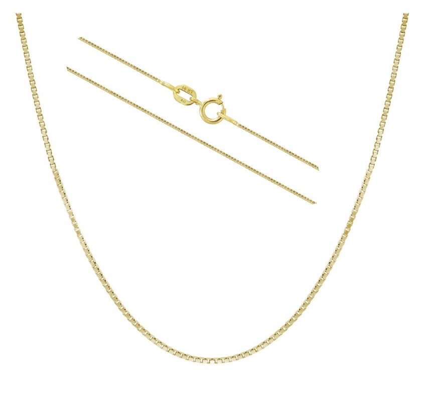 GOLD Chain (Box Chain - 18 length)