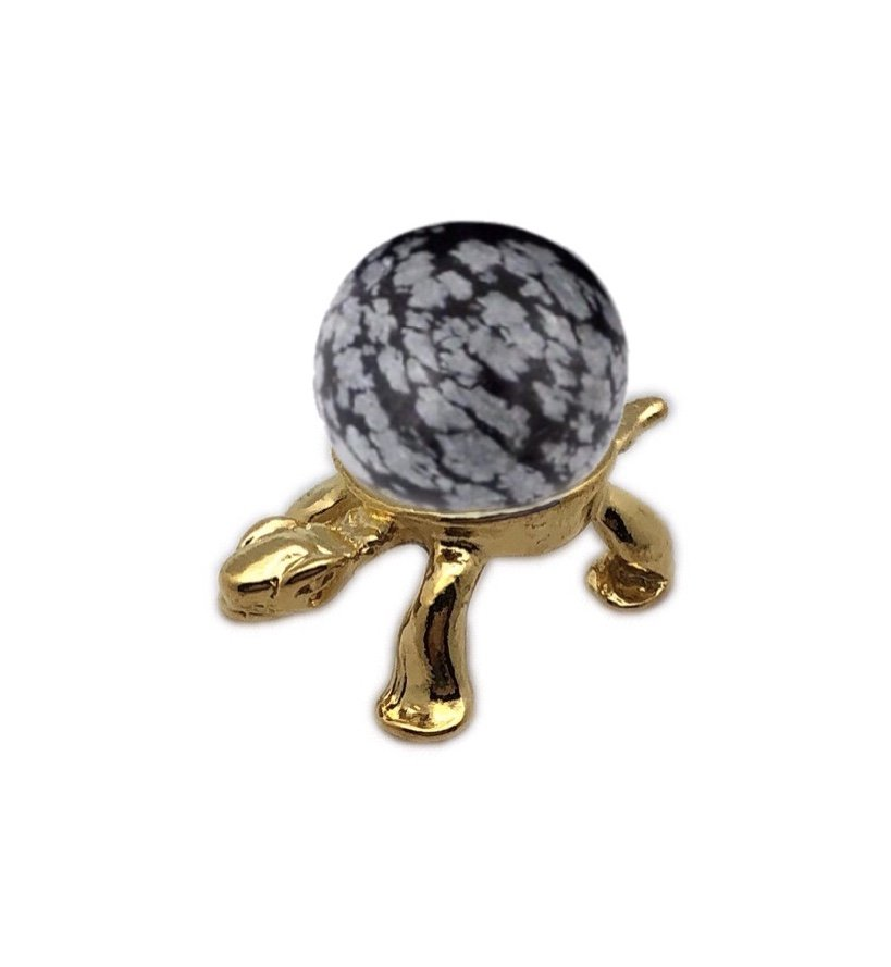 Rock > Obsidian Sphere with Turtle Holder