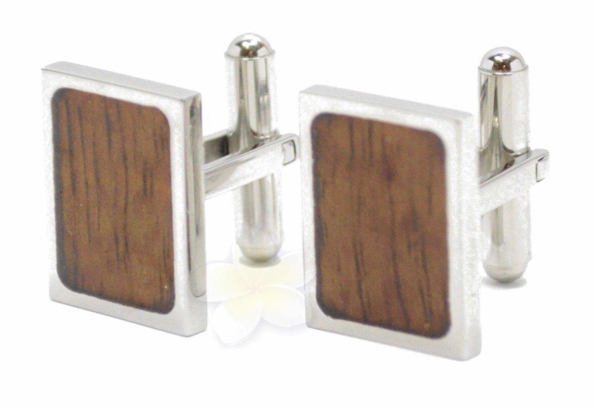 Koa Wood Cuff Links