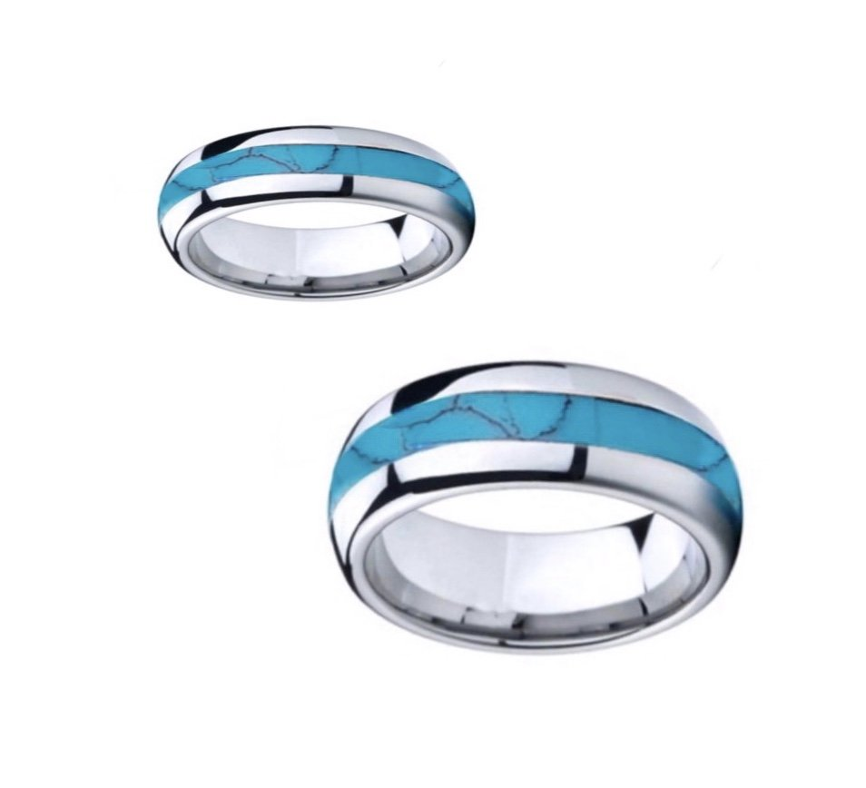 Turquoise Tungsten Ring