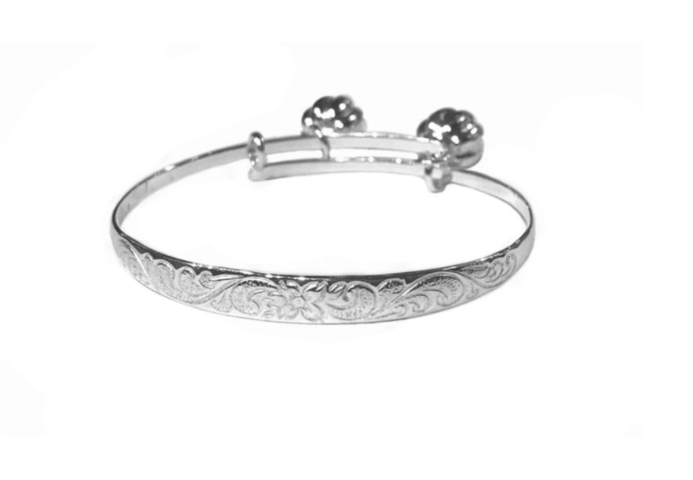 Hawaiian Heirloom Baby Bracelet with Bells