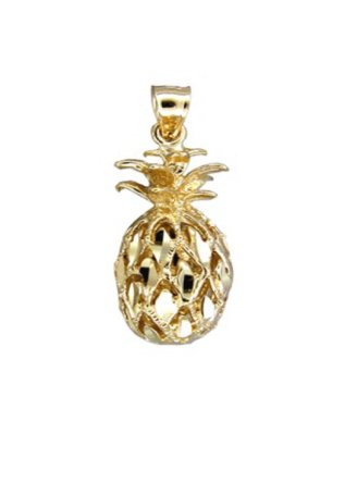 Gold Pend > Pineapple Pendant
