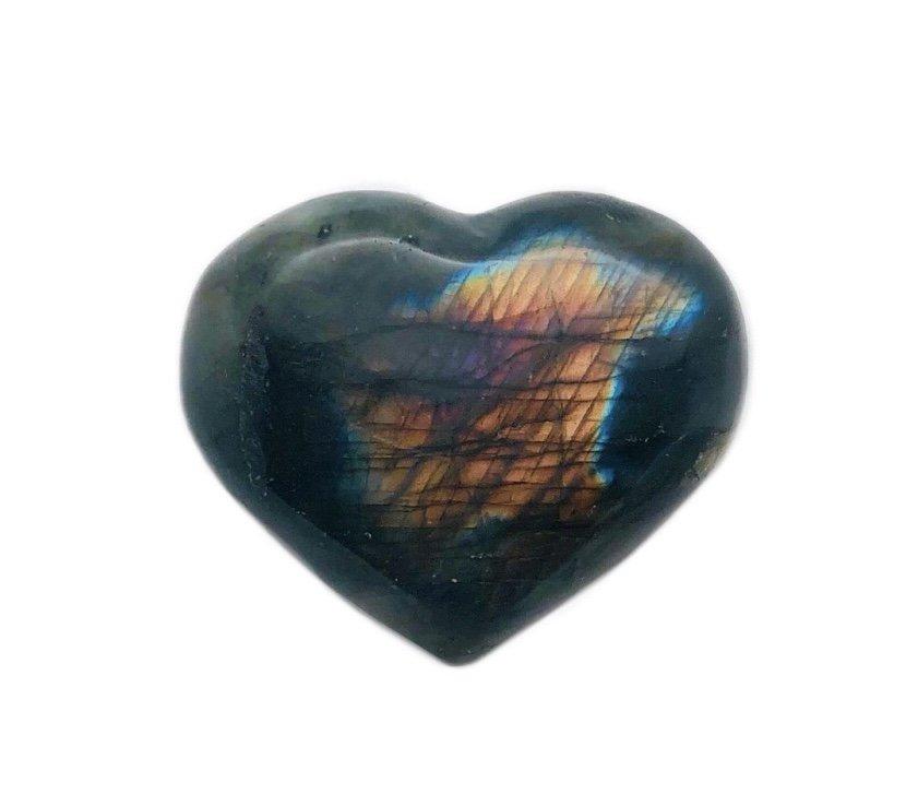 Rock > Labradorite Heart Shape Stone