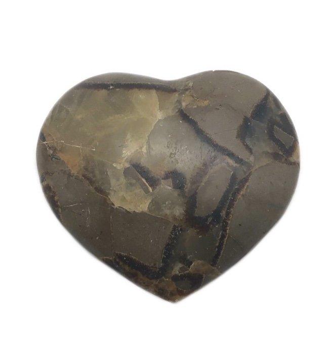 "Rock > Septarian ""Dragon Heart"" Shape Stone"