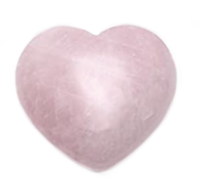 Rock > Rose Quartz Heart