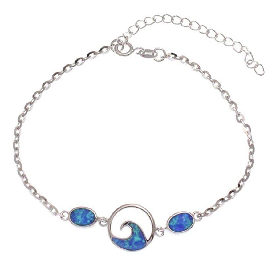 Opal Ocean Wave Anklet / Bracelet