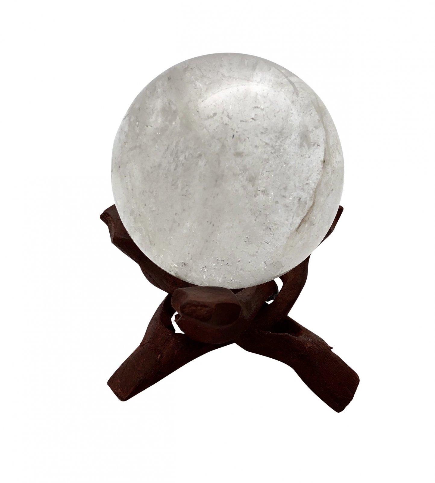 Rock > Quartz Crystal Sphere Shape Stone