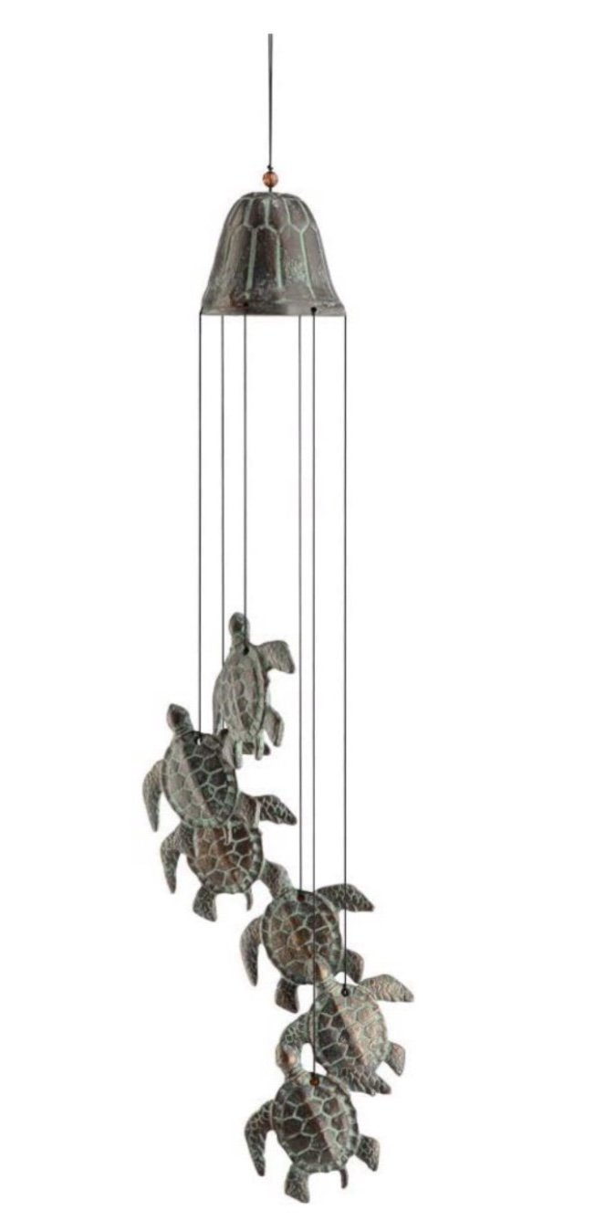 Statue > Turtle Family Wind Chime