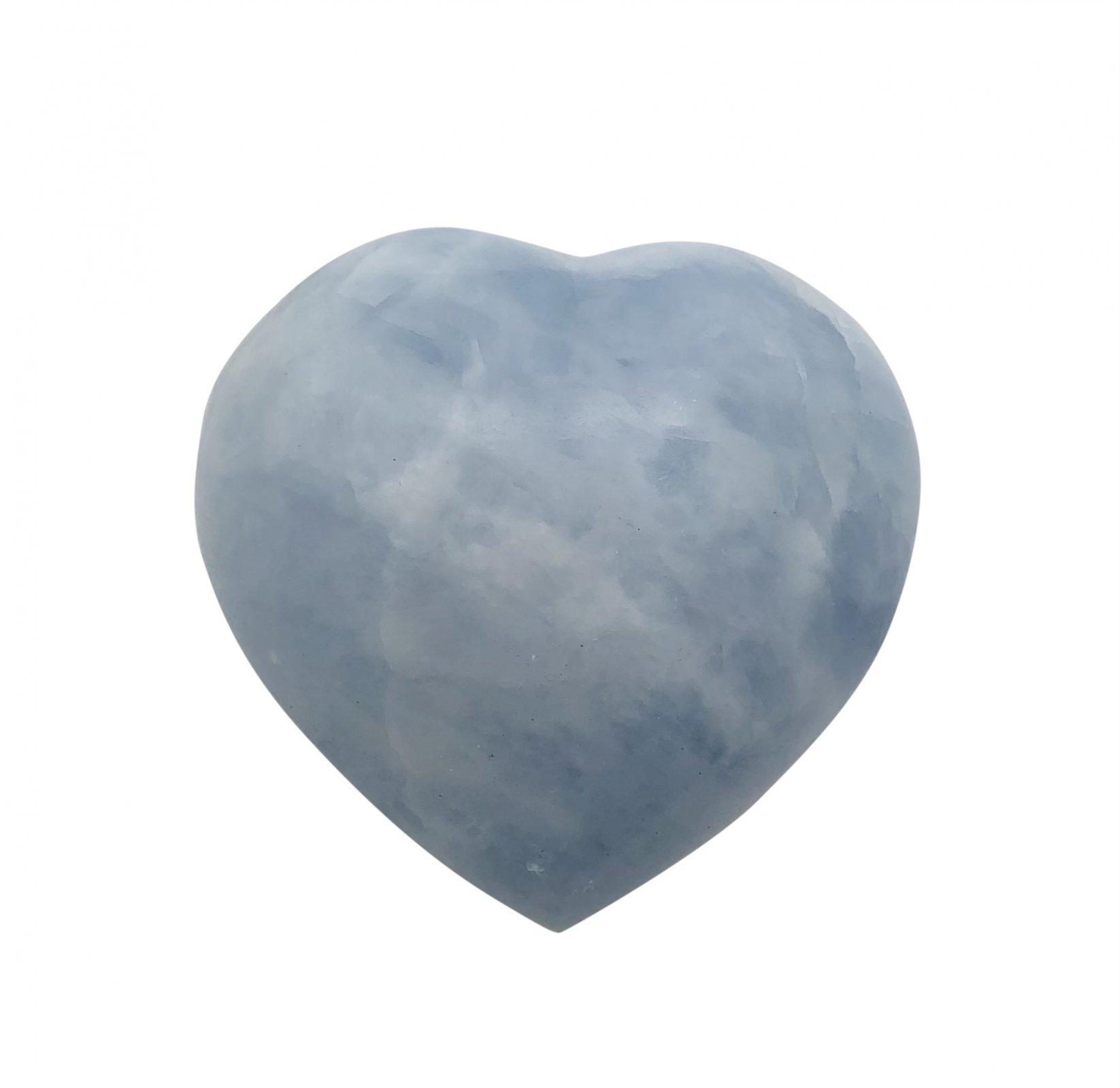 Rock > Celestite Heart Shape Stone