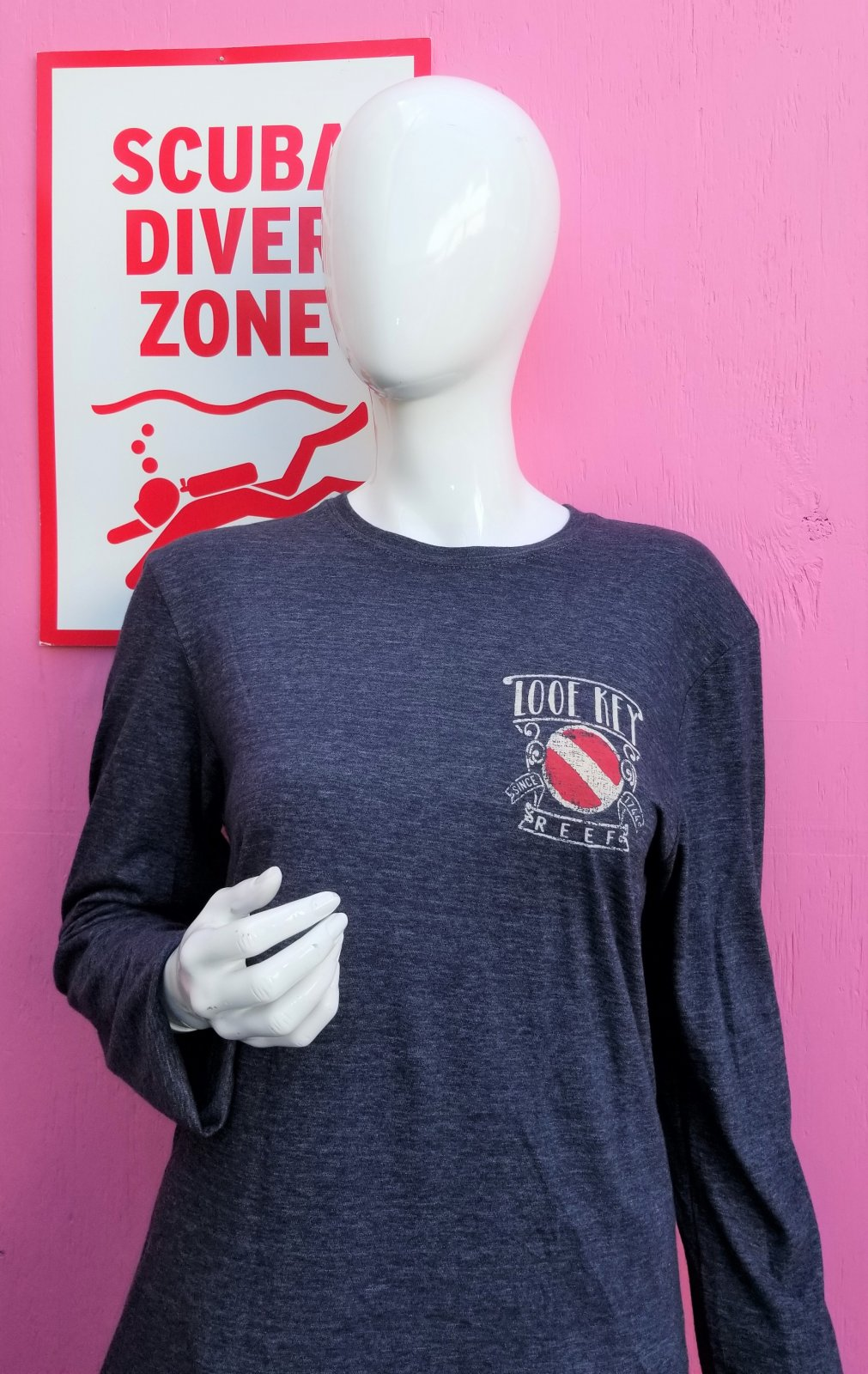 Long Sleeve: Salty Diver