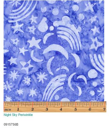 Night Sky Periwinkle  0915756B