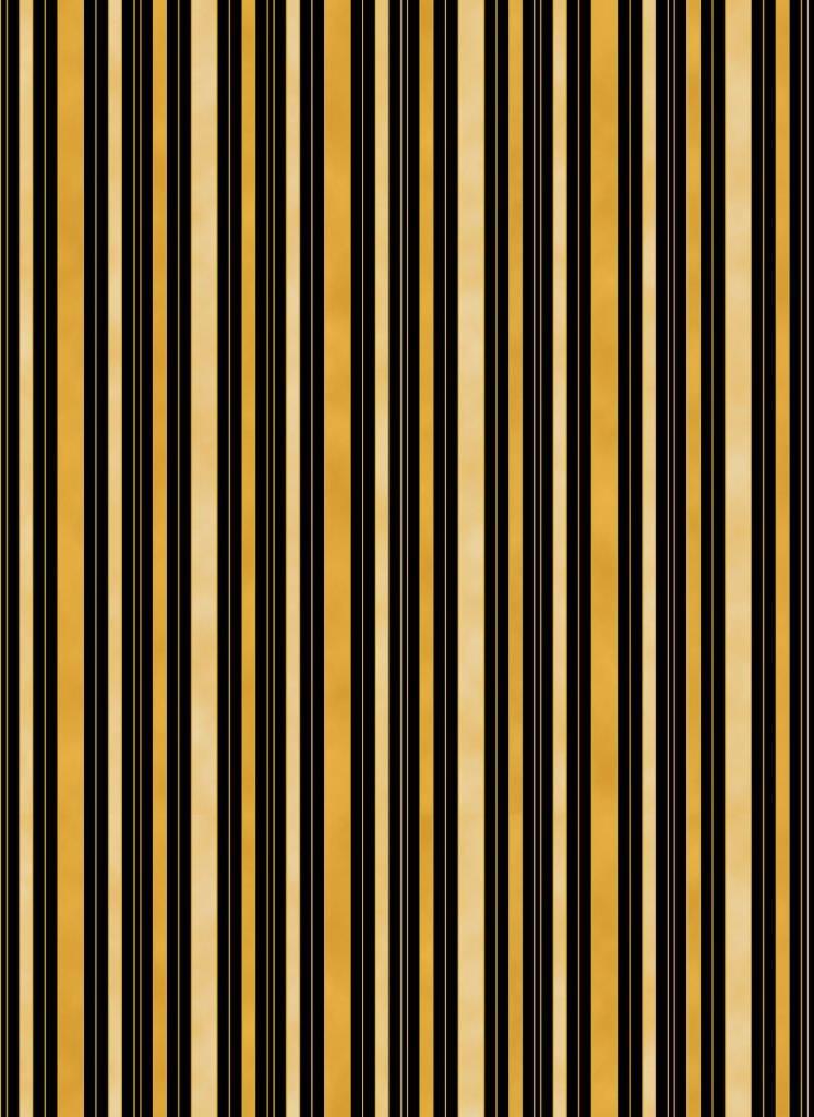 Chandler's Cottage - Hampton Stripe Black/Gold/Cream