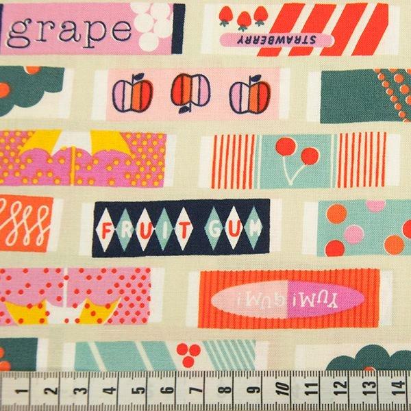 Fruit Dots - Fruit Gum - Ivory Fabric