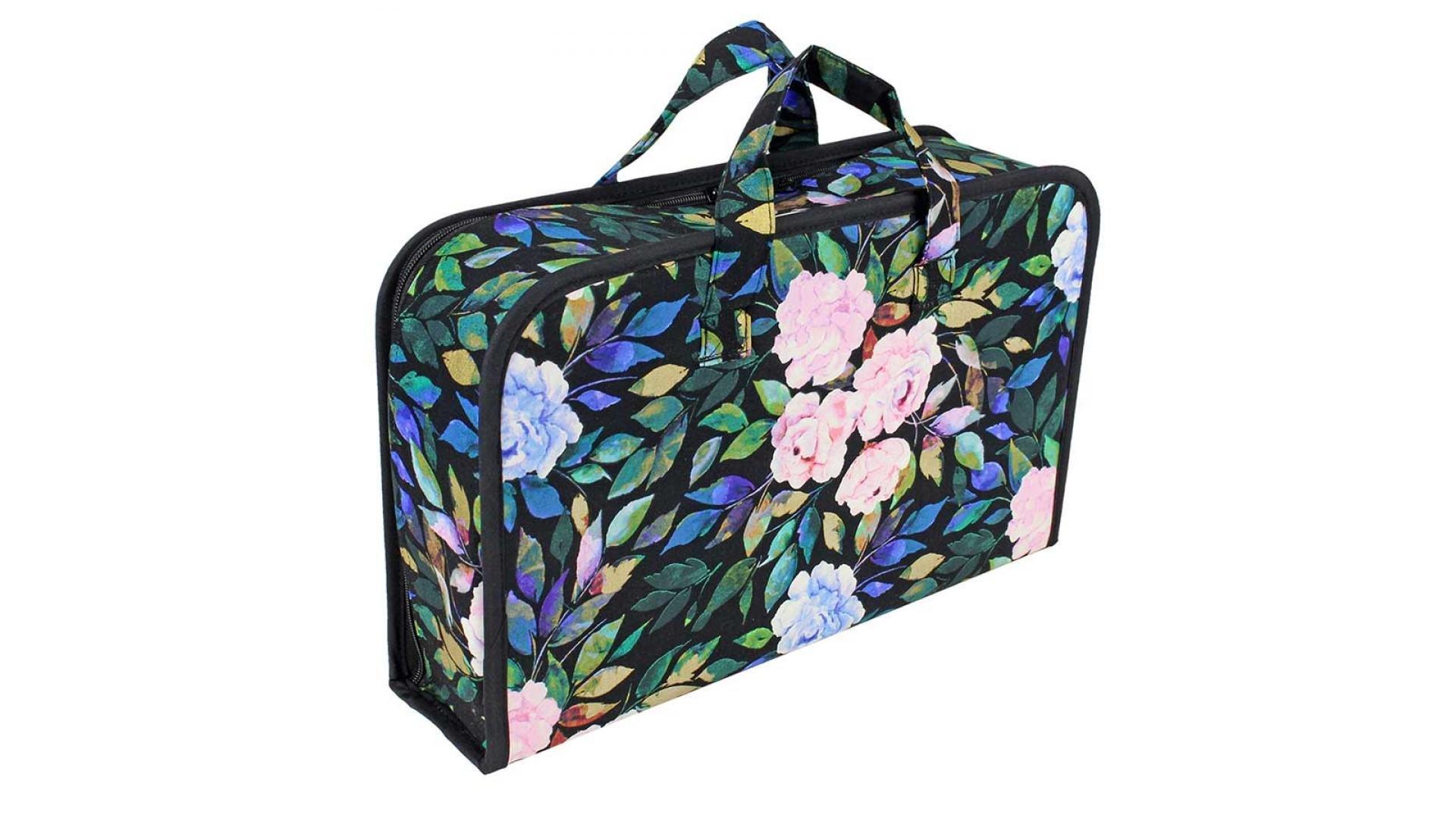 Carry Case - Black Floral