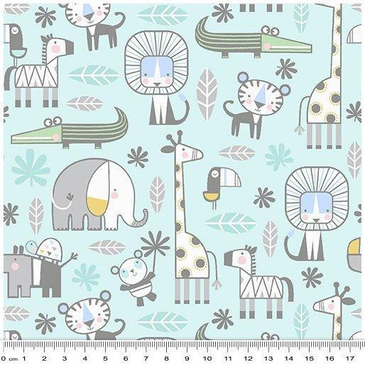 Snuggle In The Jungle Flannel - 4280