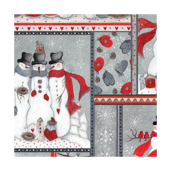 Seasons Greetings 2016 Snowman Patch