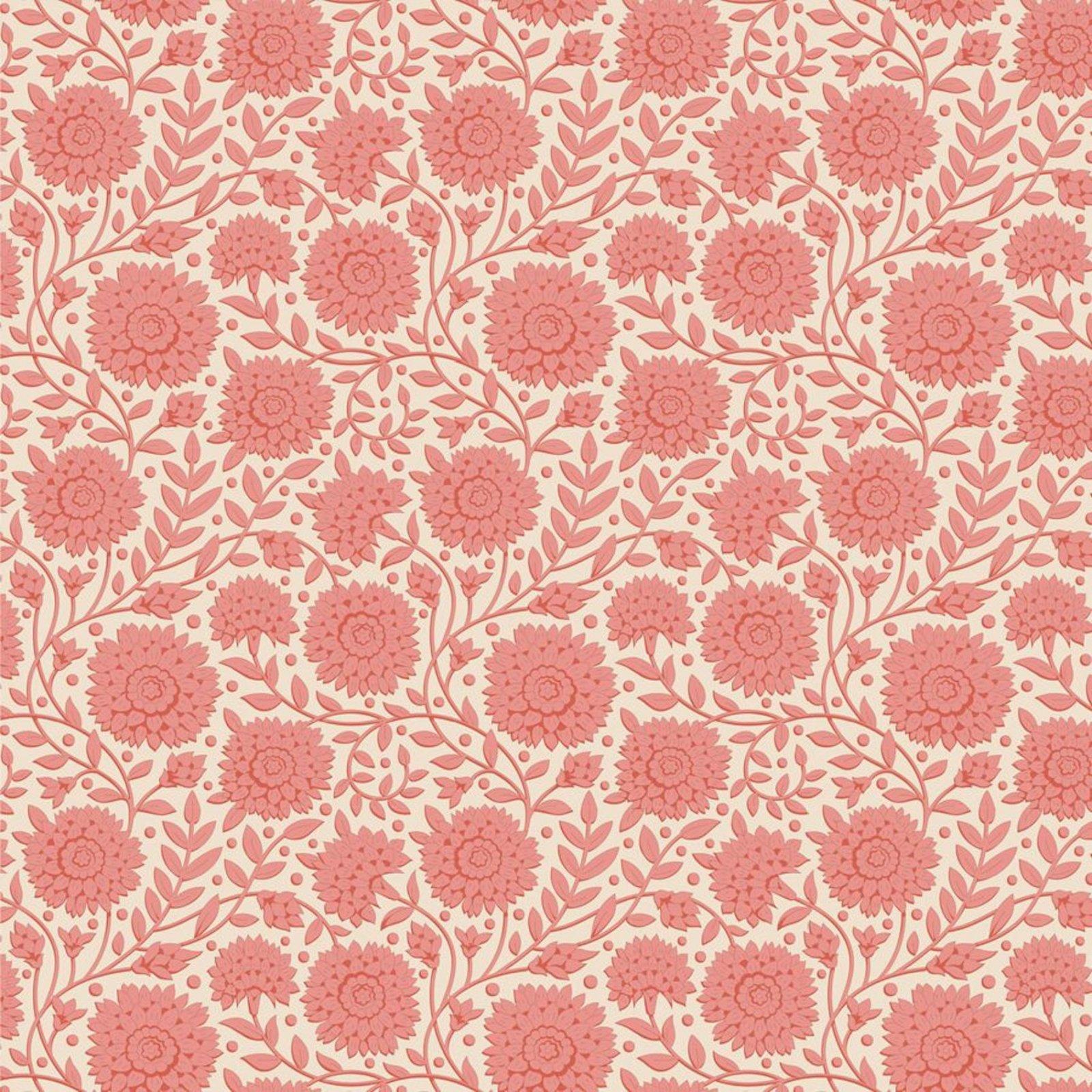 PRE-ORDER  - Tilda - Windy Days - Aella Floral Coral