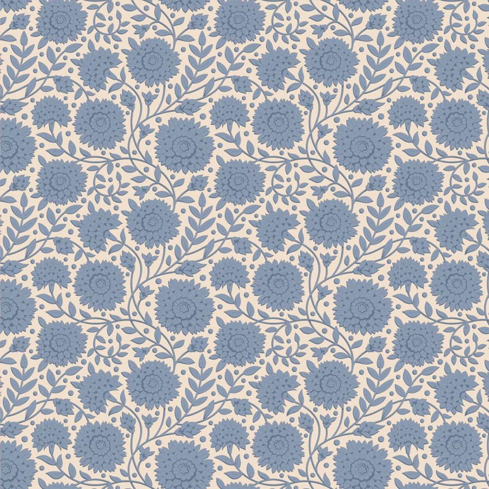 Tilda - Windy Days - Aella Floral Blue