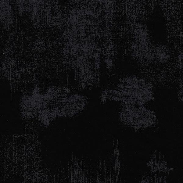 Grunge Basics Black 108 inch wide