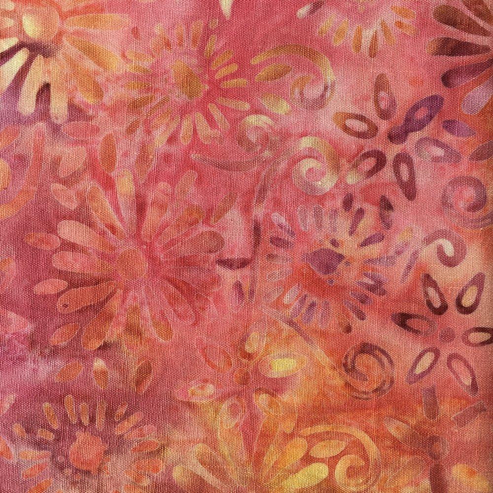 BeColourful Batik - Bright Autumn Flowers