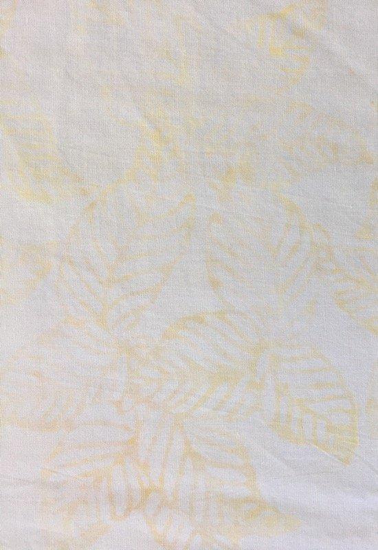 Anthology Batik - Pale Yellow Leaves