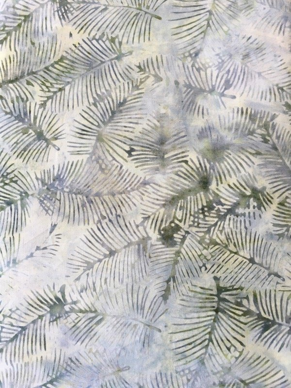 Anthology Batiks - Green Fir Leaves