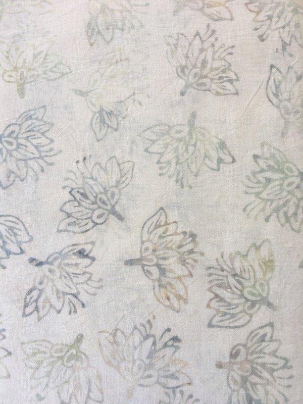 Anthology Batiks - White Lotus