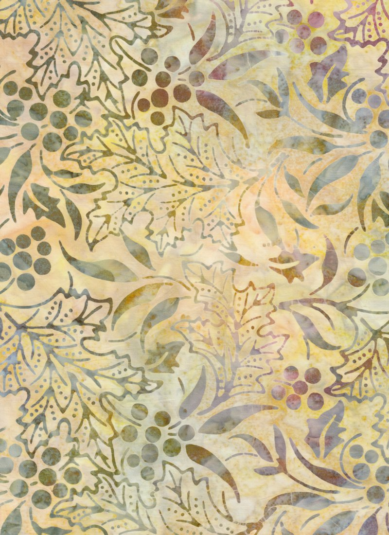 Jacqueline's Batiks - Leaves and Berries