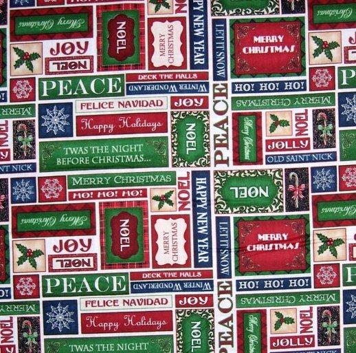 Christmas Elegance - Festive Words