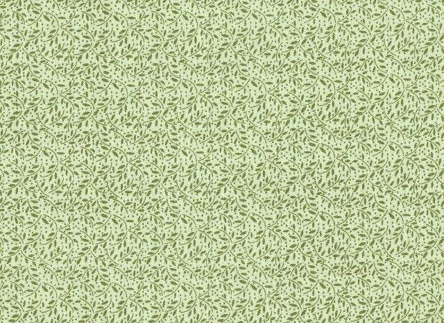 Ombre Trends Lime Leaf Motif