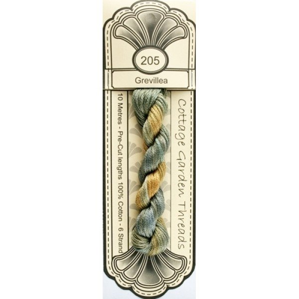 Cottage Garden Threads - 205 - Grevillea