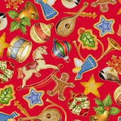 Xmas Ornaments Red