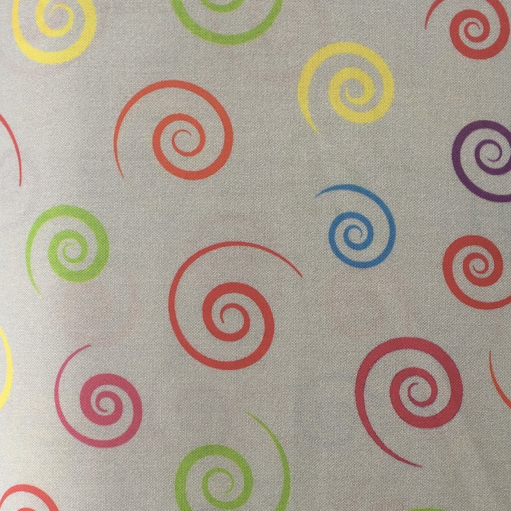 Carnival Backing - Grey 108 Wide