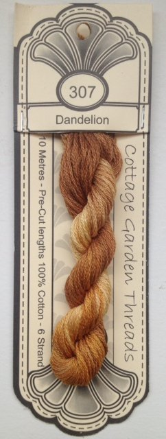 Cottage Garden Threads - 307 - Dandelion