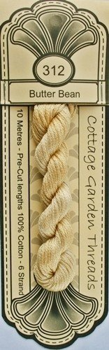 Cottage Garden Threads - 312 - Butter Bean