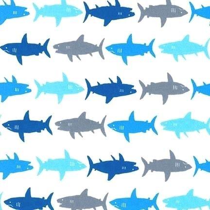 Sevenberry Mini Prints - Sharks