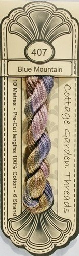 Cottage Garden Threads - 407 - Blue Mountain