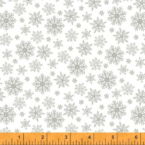 Grace - Snowflakes Silver & White