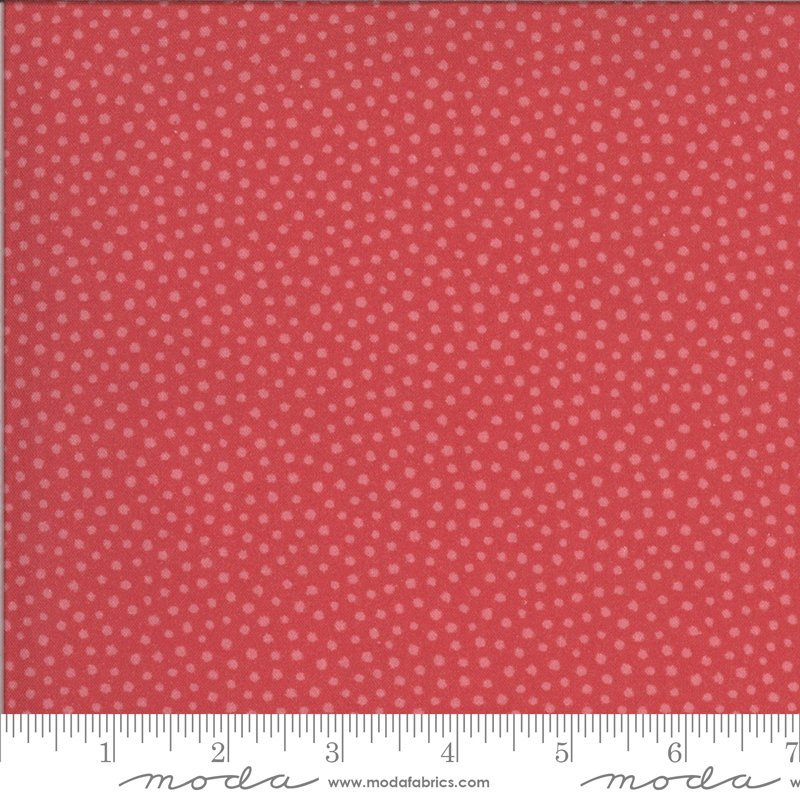 Regency Zarafa - Persian Red - Dots