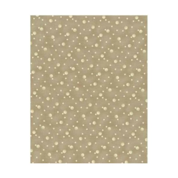 Quilters Basic - Spots - Beige