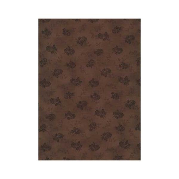Quilters Basic - Roses - Brown
