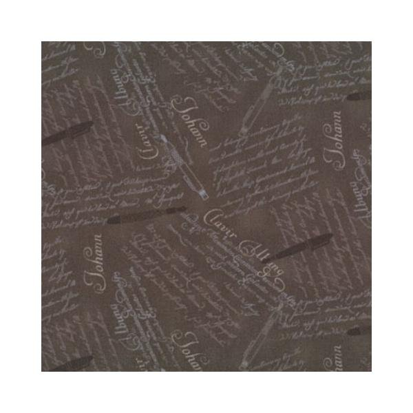Quilters Basic - Calligraphy - Chocolate