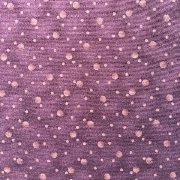 Quilters Basic - Bubbles - Auburgine
