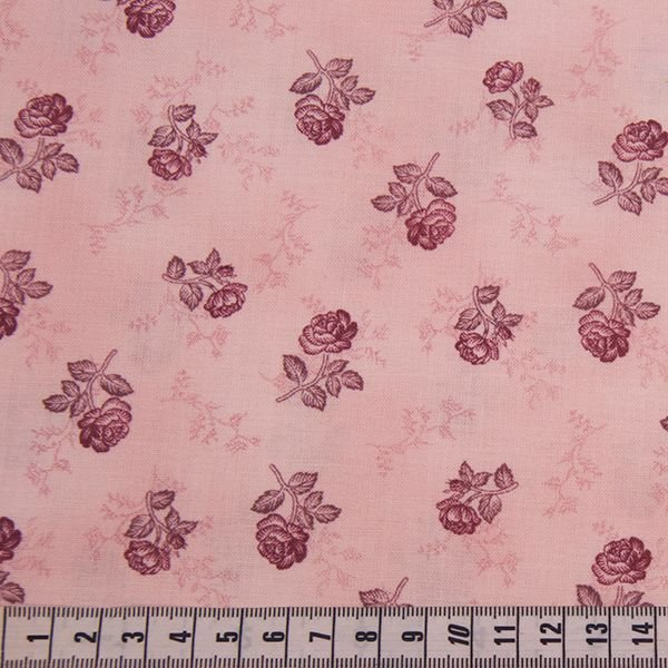 Quilters Basic Special - Roses Pink