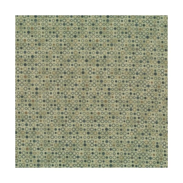 Quilters Basic - Spots - Pine Green