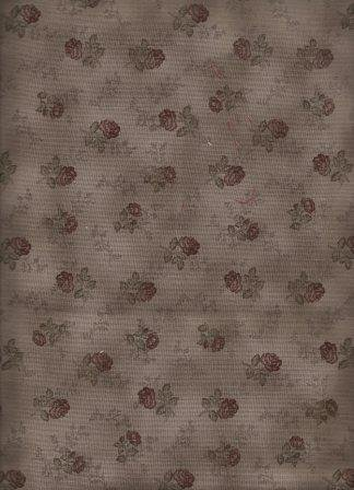 Quilters Basic - Roses - Charcoal